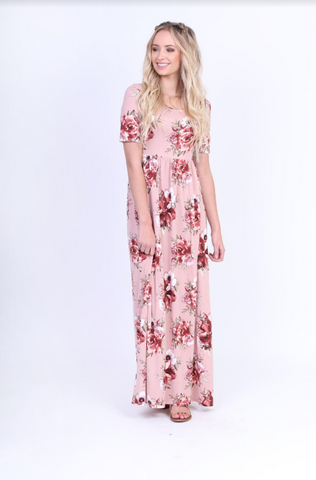 The Everyday Maxi -- Blush Rose