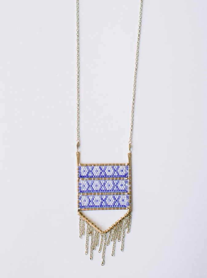 Allegory Necklace -- Blue