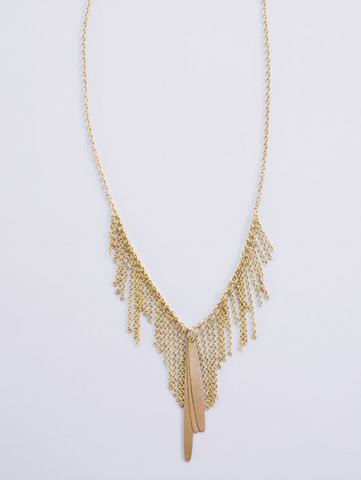 Willow Necklace -- Gold