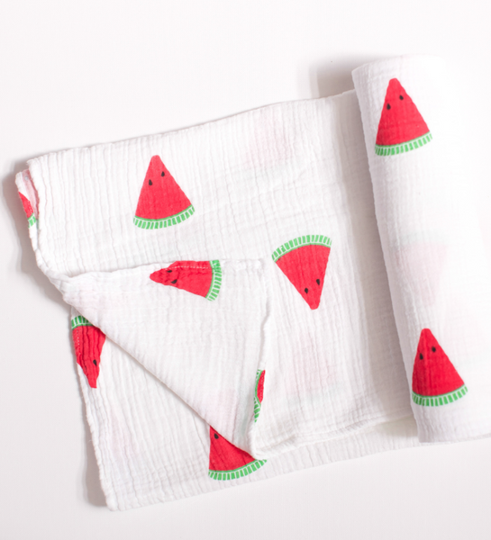 Watermelon Swaddle Blanket
