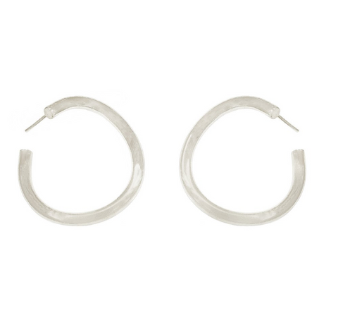 Whisp Earrings -- Silver