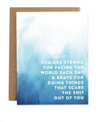 You Are Strong Card of Compassion