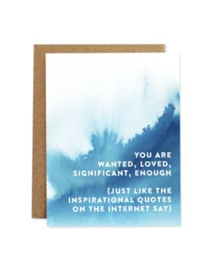 Inspirational Quotes Card