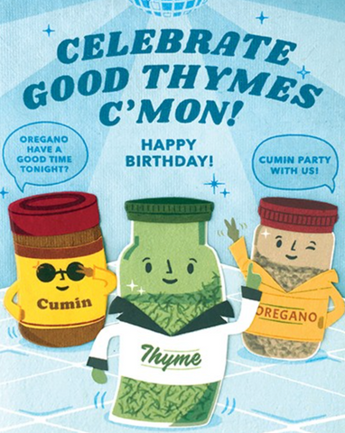 Celebration Thyme Card
