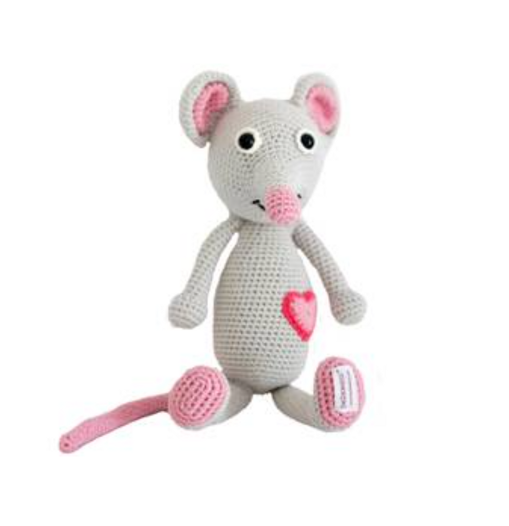 Emma the Mouse Baby Toy