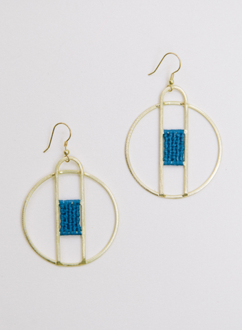 Amalfi Earrings -- Blue