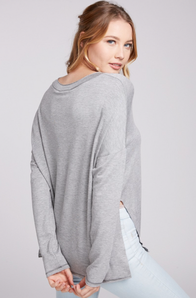 Jules Top -- Grey