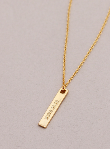 Eileen Necklace -- Gold
