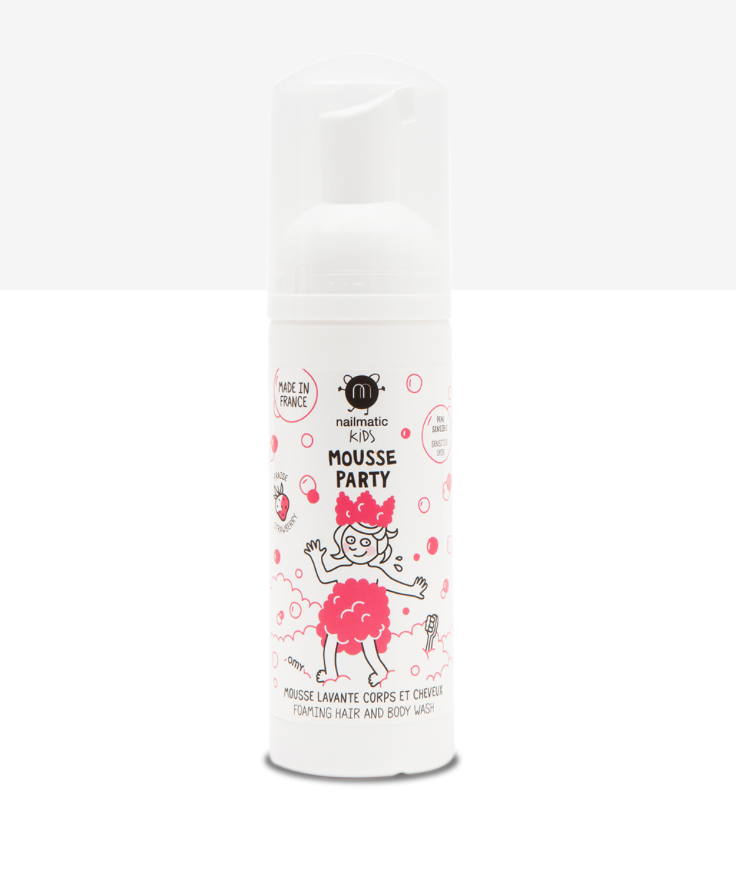 Kids Foaming Hair and Body Wash -- Strawberry