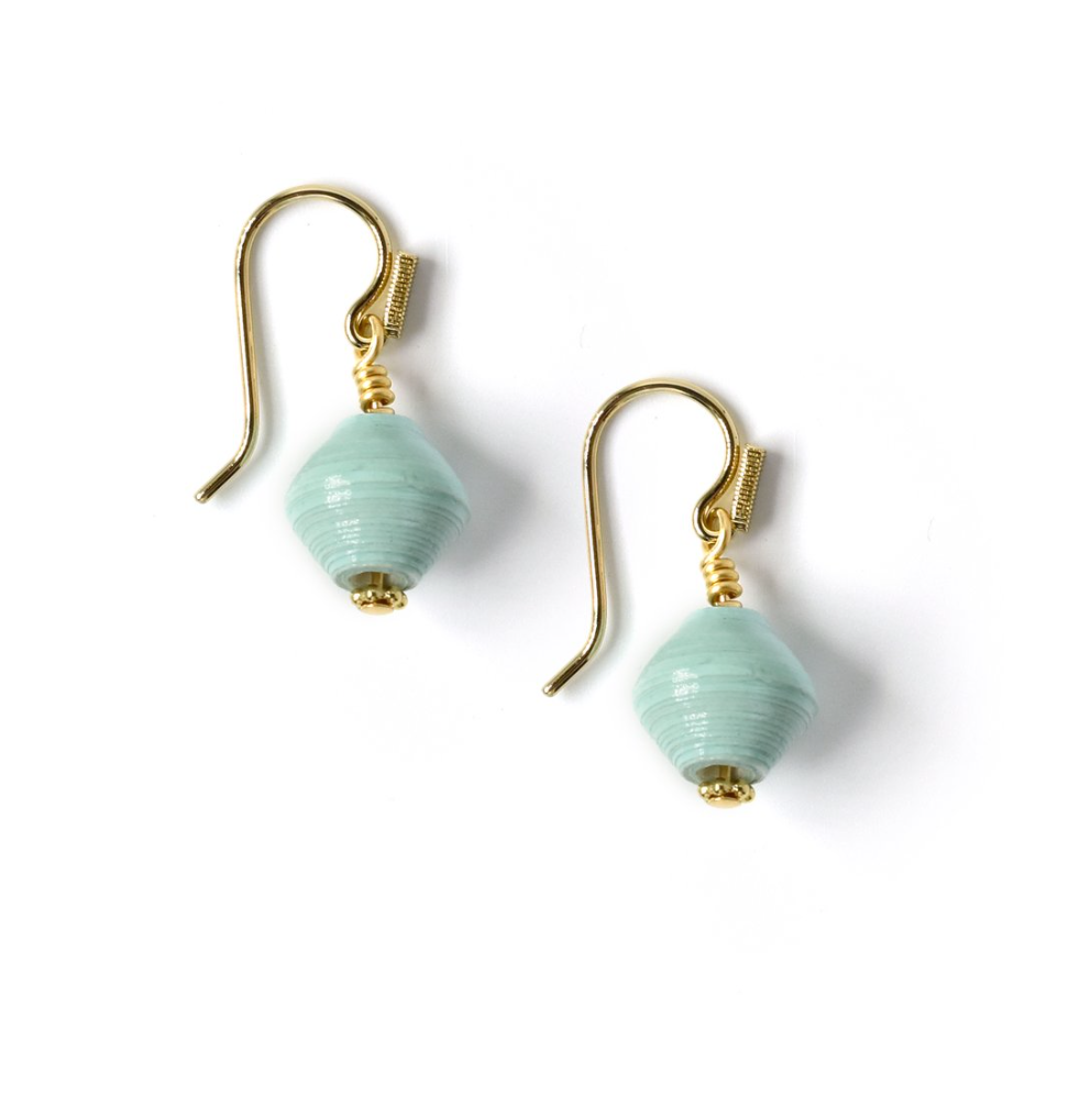 Akola Small Annette Earrings -- Robin's Eggs