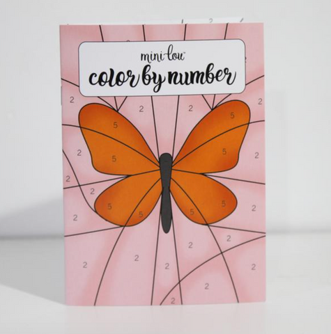 Color By Number Activity Book