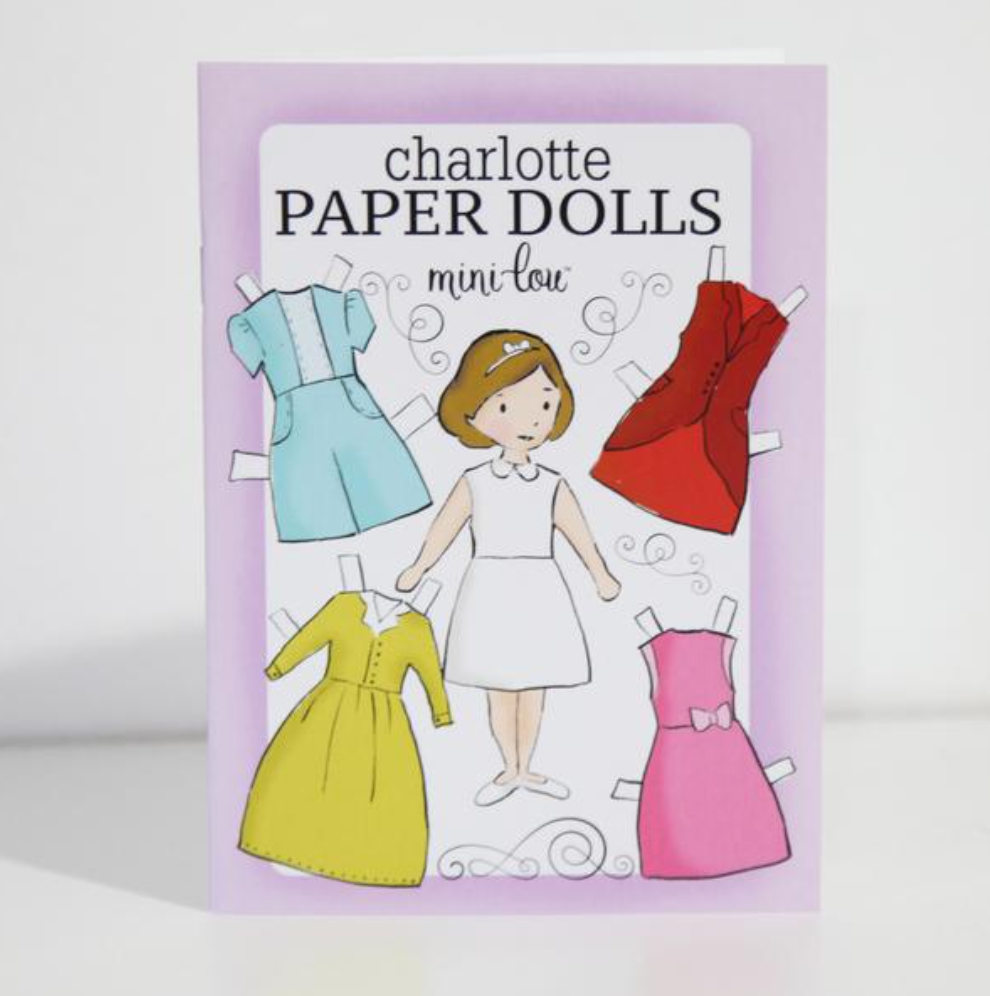 Charlotte Paper Dolls Activity Book