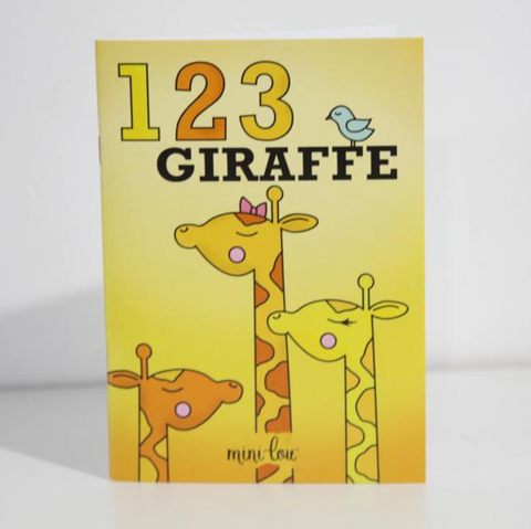 Giraffe Coloring Book