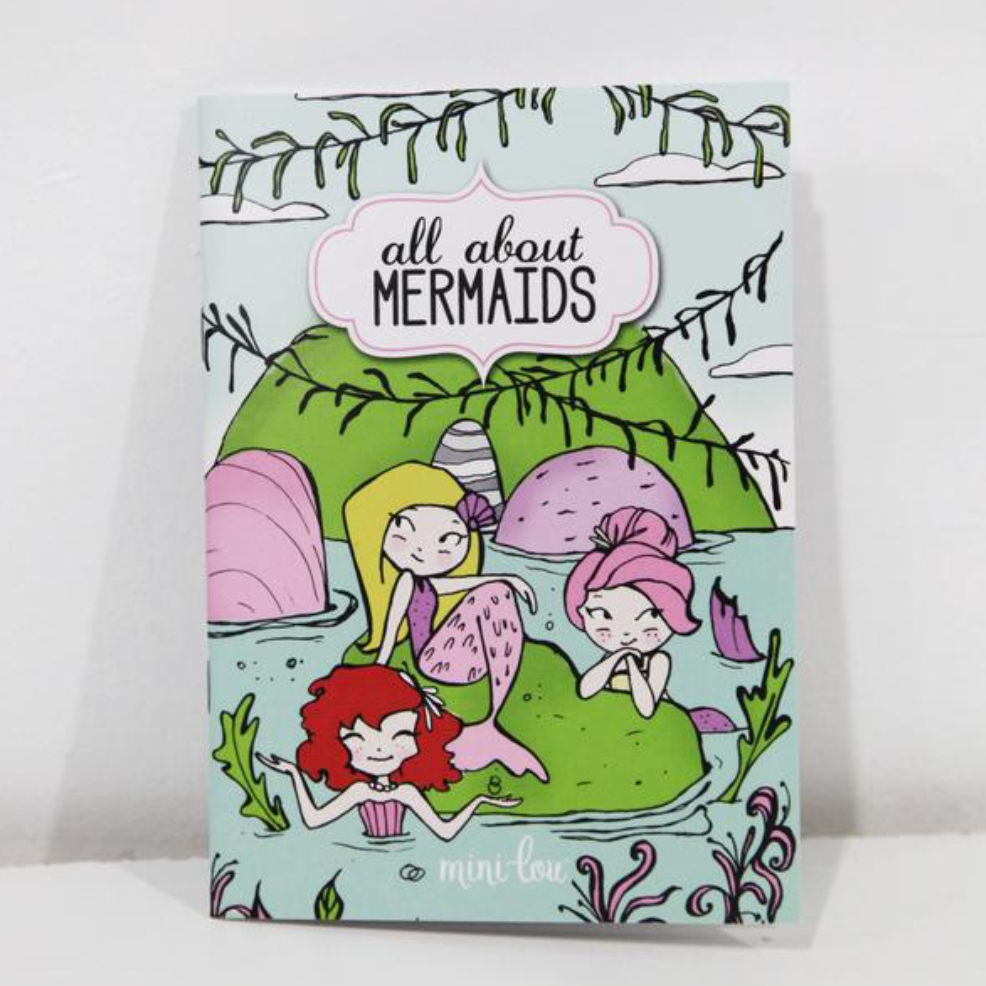 All About Mermaids Coloring Book