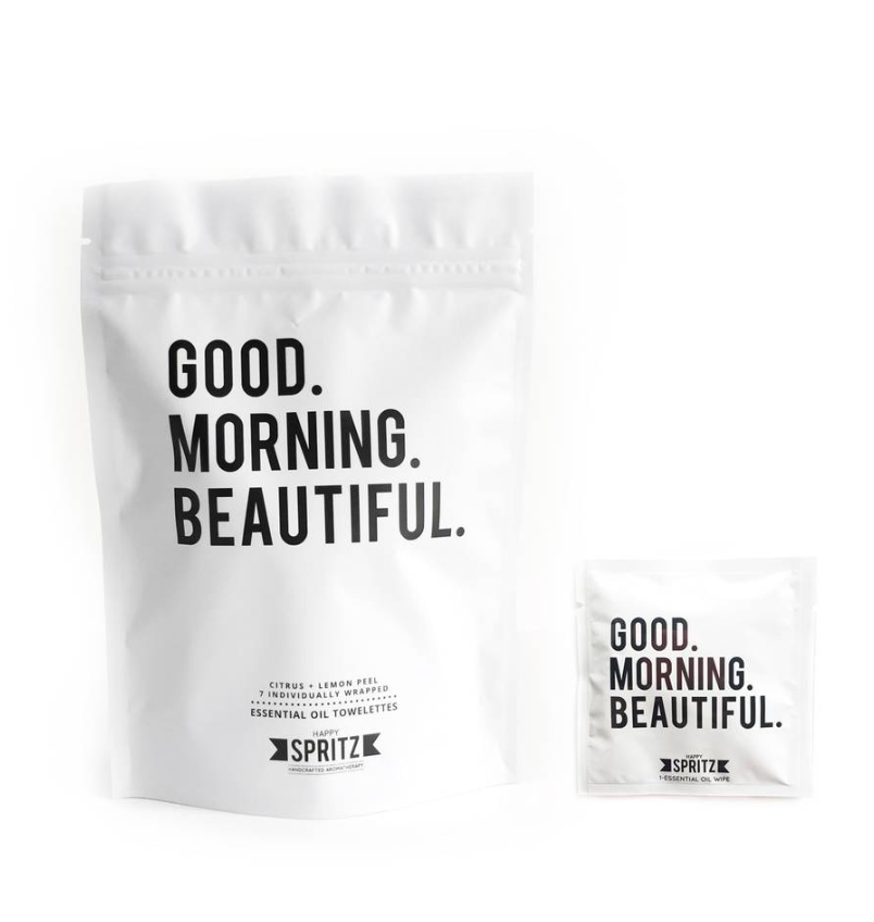 Good Morning Beautiful Towelette 7 Day Bag