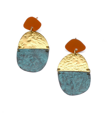 Nihira Earrings -- Multi Medallion