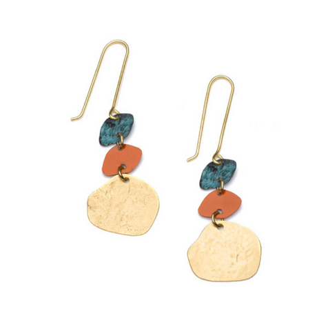 Nihira Earrings -- Multi Drop