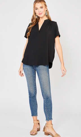 Valerie Top -- Black