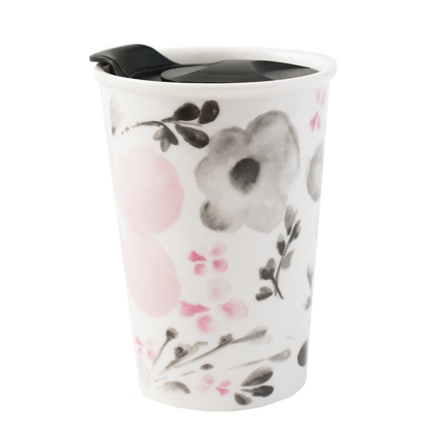 You Make Me Blush Pink Travel Mug