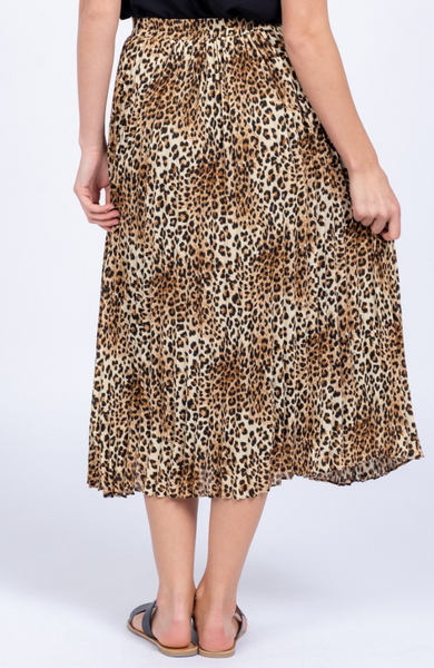 Chia Cheetah Skirt