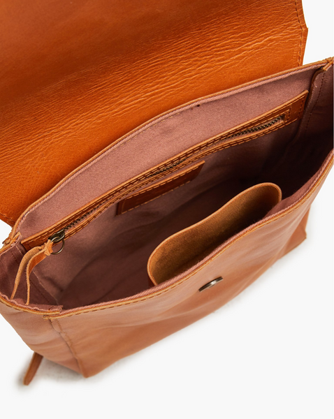 Fozi Backpack -- Cognac