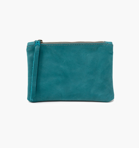 Martha Coin Pouch -- Teal