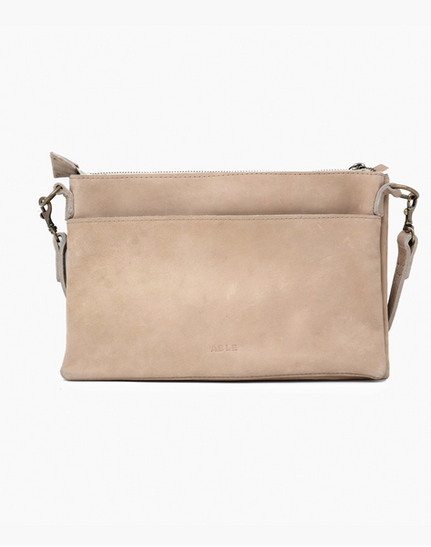 Martha Crossbody -- Fog