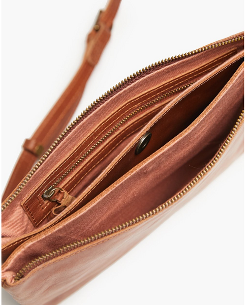 Martha Crossbody -- Whiskey