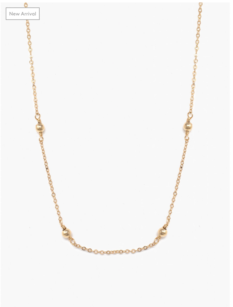 Halcyon Necklace -- Gold