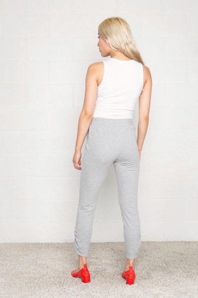 Terry Jogger -- Heather Grey