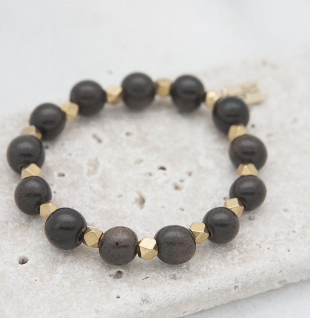 Essentials Stretch Bracelet -- Black