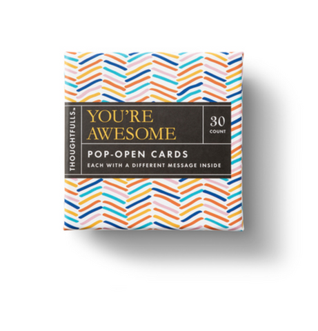Pop Open Cards -- You're Awesome