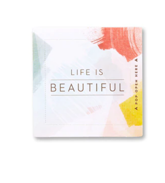 Pop Open Cards -- Life Is Beautiful