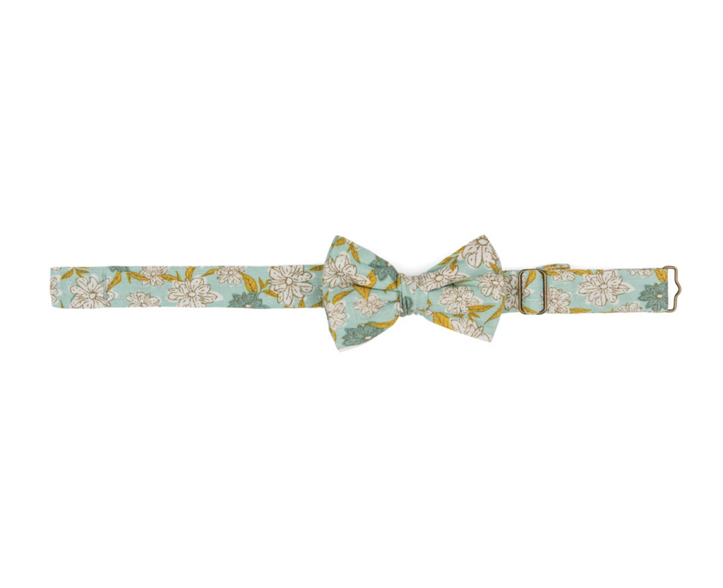 Bow Tie -- Teal Floral