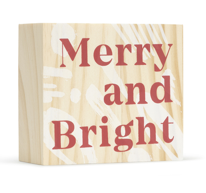 Merry And Bright Board