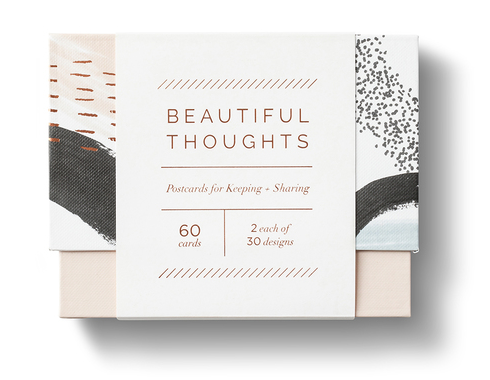 Beautiful Thoughts Postcards