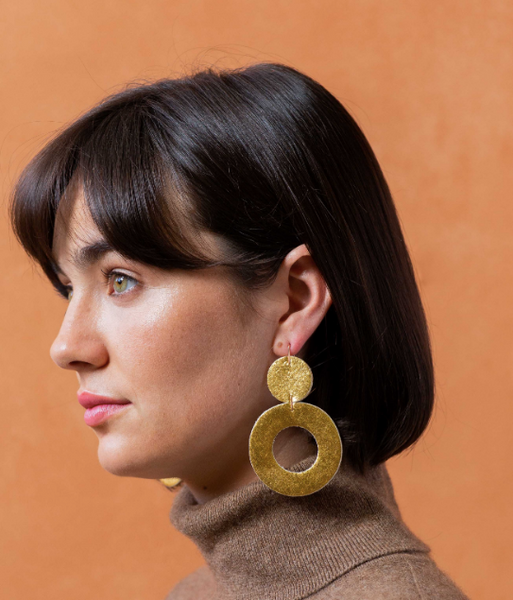 Stela Earrings -- Gold