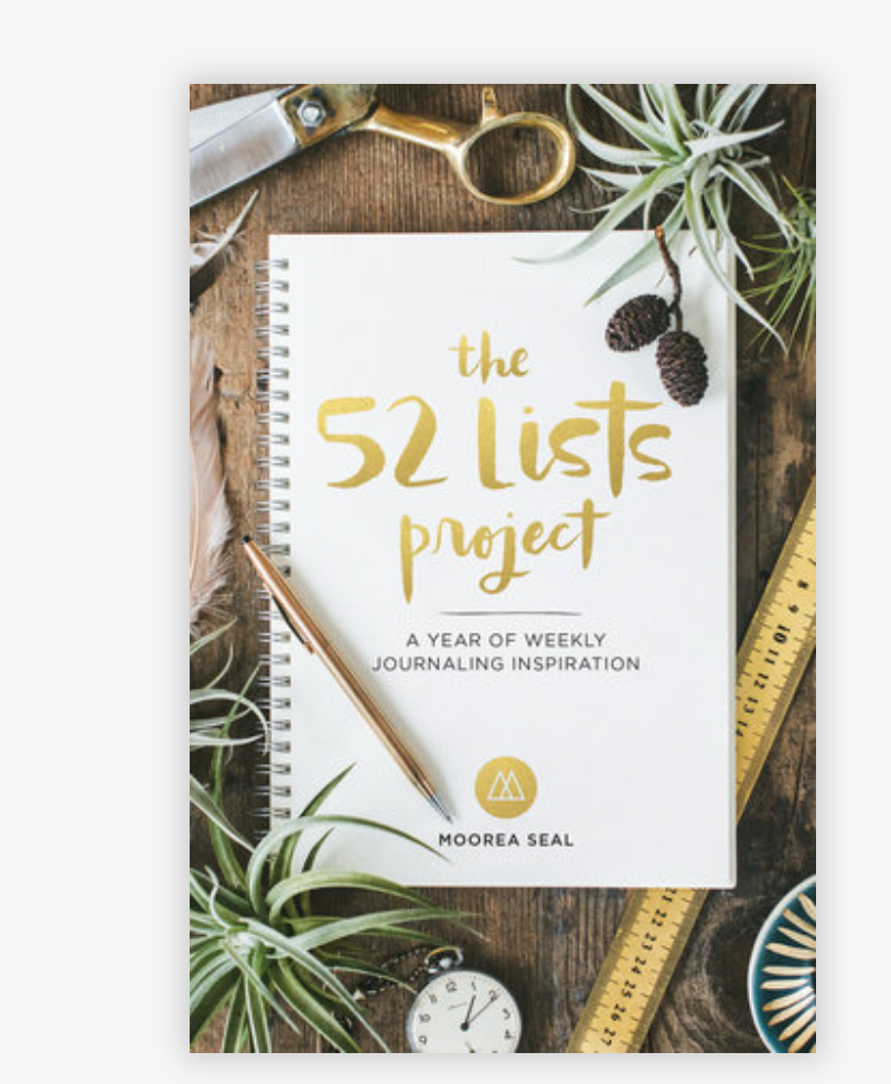 52 Lists Project Book