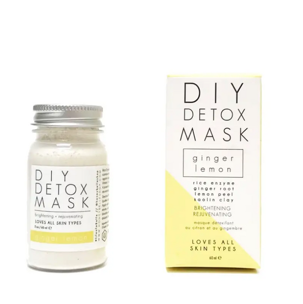 DIY Detox Mask -- Ginger Lemon