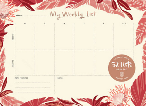 52 Lists My Weekly List