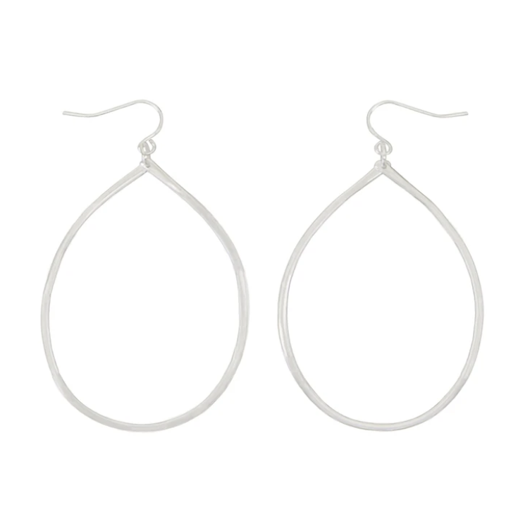 Lively Earrings -- Silver