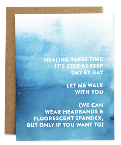 Healing Takes Time Card of Compassion