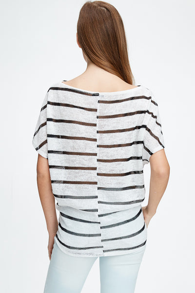 Celine Top -- Off White