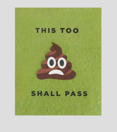 "Philippines ""This Too Shall Pass"" Greeting Card"