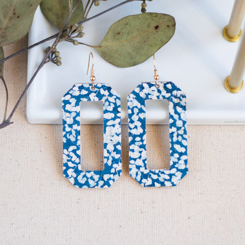 Denver Earrings -- Bluebell