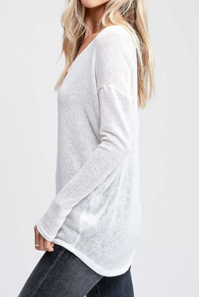 Sutton Sweater -- Ivory
