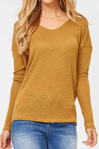 Sutton Sweater -- Mustard