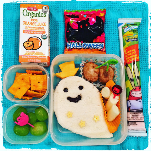 October Halloween Bentos