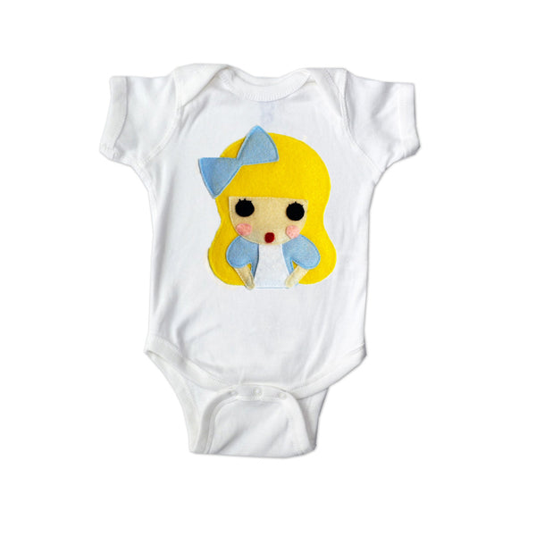 Alice - Alice's Adventure in Wonderland - Infant Bodysuit