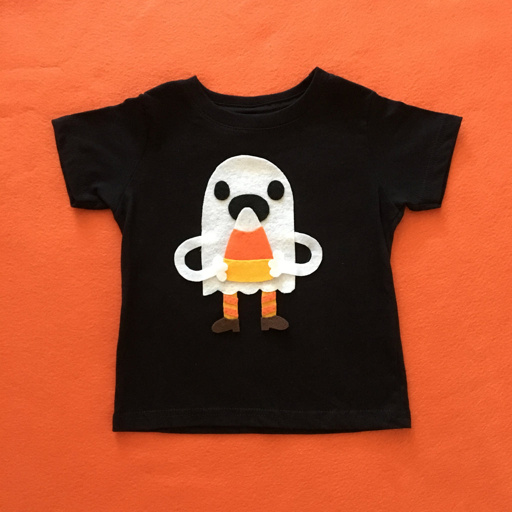 Candy Corn Love Ghost - Kids Tee - Costume